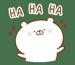 Kumaman english sticker #13185813