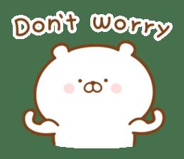 Kumaman english sticker #13185829