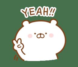 Kumaman english sticker #13185834