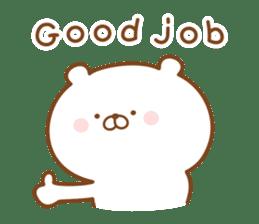 Kumaman english sticker #13185836