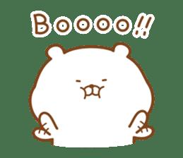 Kumaman english sticker #13185840