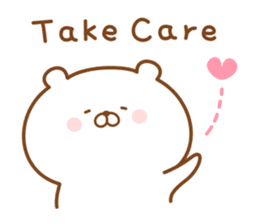 Kumaman english sticker #13185843