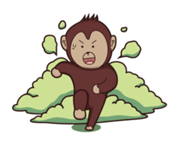 Bana The Monkey : I Like To Move sticker #13188638