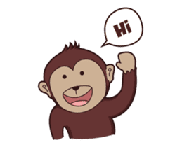 Bana The Monkey : I Like To Move sticker #13188639