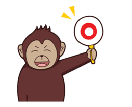 Bana The Monkey : I Like To Move sticker #13188640