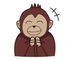Bana The Monkey : I Like To Move sticker #13188647