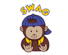 Bana The Monkey : I Like To Move sticker #13188650
