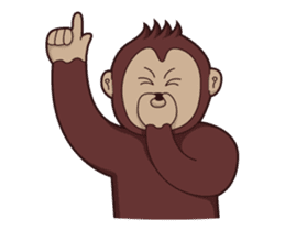 Bana The Monkey : I Like To Move sticker #13188656