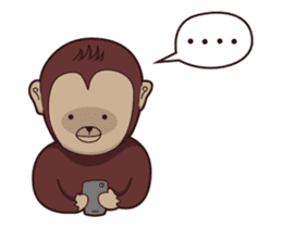 Bana The Monkey : I Like To Move sticker #13188657
