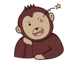 Bana The Monkey : I Like To Move sticker #13188658