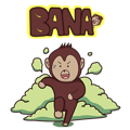 Bana The Monkey : I Like To Move