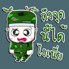 Mr. Kotaro. Soldier. ^^