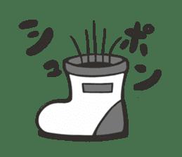 Boots in SHIROKUMA sticker #13202471