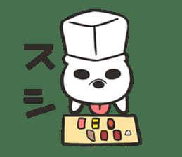 Boots in SHIROKUMA sticker #13202483