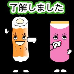 Chikuwa chan & Kamaboko chan