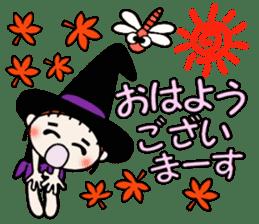 Hawaiian Girl ocyame of autumn 1 sticker #13205782