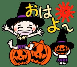 Hawaiian Girl ocyame of autumn 1 sticker #13205784