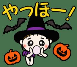 Hawaiian Girl ocyame of autumn 1 sticker #13205789