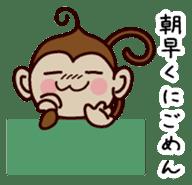 Monkey Sticker! sticker #13206423