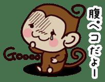 Monkey Sticker! sticker #13206424