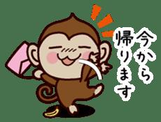 Monkey Sticker! sticker #13206425