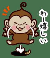 Monkey Sticker! sticker #13206427