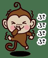 Monkey Sticker! sticker #13206428