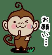 Monkey Sticker! sticker #13206429