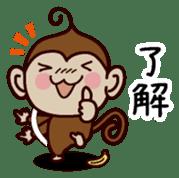 Monkey Sticker! sticker #13206430
