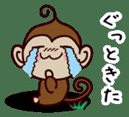 Monkey Sticker! sticker #13206431