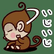 Monkey Sticker! sticker #13206432