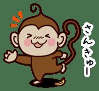 Monkey Sticker! sticker #13206433