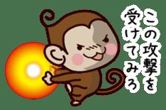 Monkey Sticker! sticker #13206434