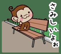 Monkey Sticker! sticker #13206436