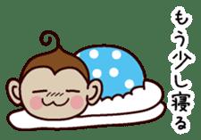 Monkey Sticker! sticker #13206437