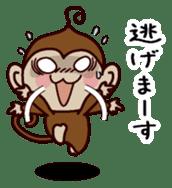 Monkey Sticker! sticker #13206439