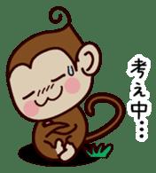 Monkey Sticker! sticker #13206441