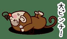 Monkey Sticker! sticker #13206442