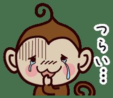 Monkey Sticker! sticker #13206445