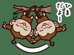 Monkey Sticker! sticker #13206446