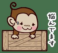 Monkey Sticker! sticker #13206447