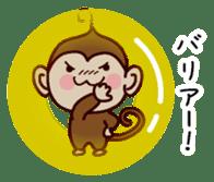 Monkey Sticker! sticker #13206449