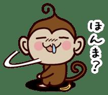 Monkey Sticker! sticker #13206450