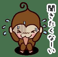 Monkey Sticker! sticker #13206455