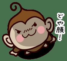 Monkey Sticker! sticker #13206460