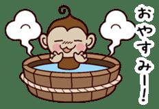 Monkey Sticker! sticker #13206461