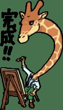 Humanoid Animal's Life sticker #13208437
