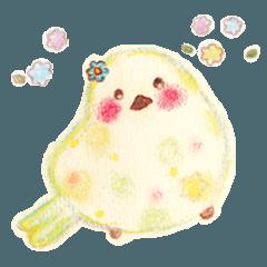 Little white bird 'SHIRO'