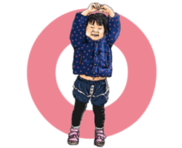 Funny Face Sisters of Japan will heal U. sticker #13216486