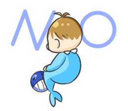 Whale family sticker #13218355